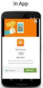 in app